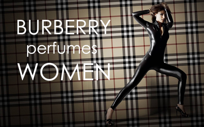 burberry perfume women